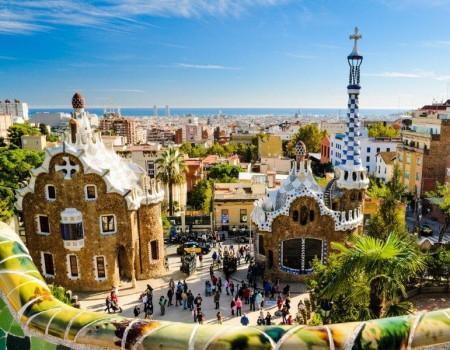 Parque Güell de Gaudí es uno de los iconos de Barcelona