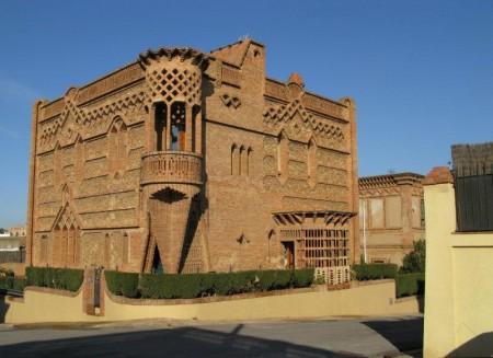 Colonia Güell, uno de los primeros diseños de Gaudí