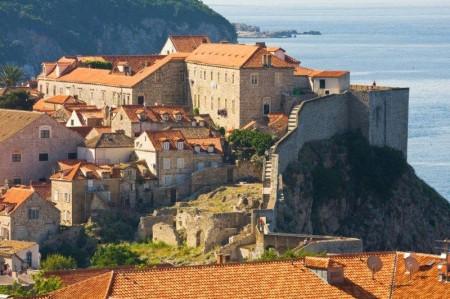 La ciudad amurallada de Dubrovnik.