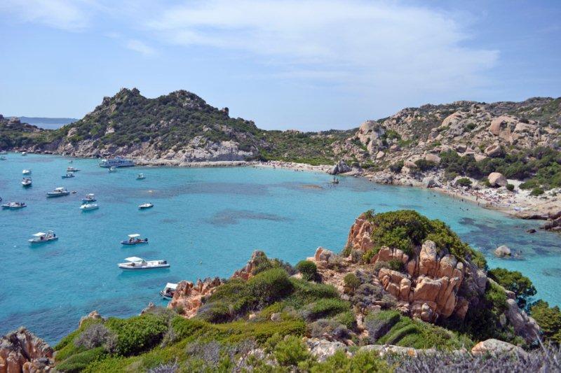 playas costa esmeralda en cerdena