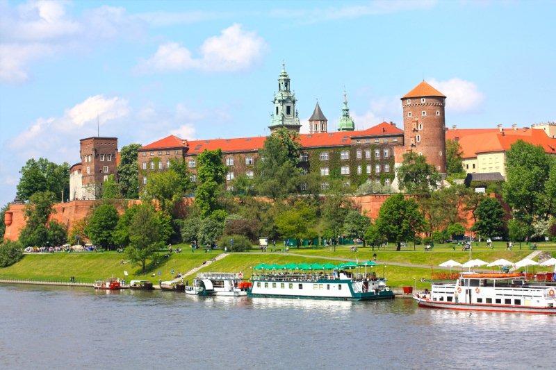 Castillo Real en la colina de Wawel, Cracovia