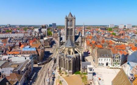 Desde la Torre del Campanario (Belfort) se obtienen las mejores vistas de Gante