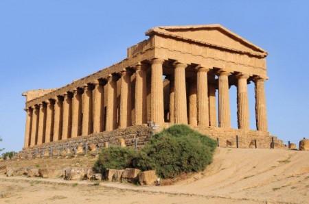 Templo de la Concordia, en el Valle de los Templos de Agrigento