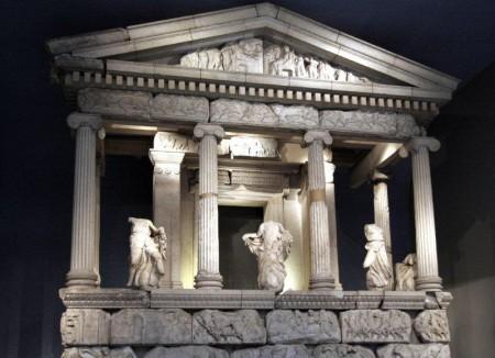 Monumento de las Nereidas, Museo Británico, Londres