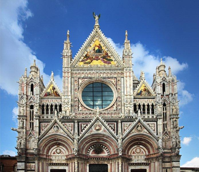 Duomo de Siena, Italia