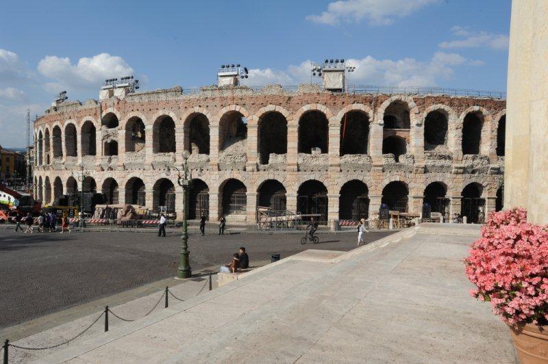 Anfiteatro romano también llamado Arena di Verona