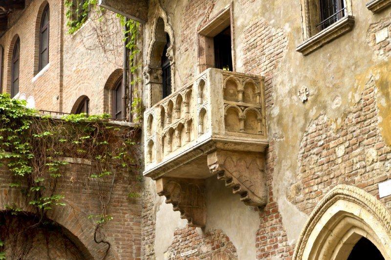 El literario balcón de Romeo y Julieta