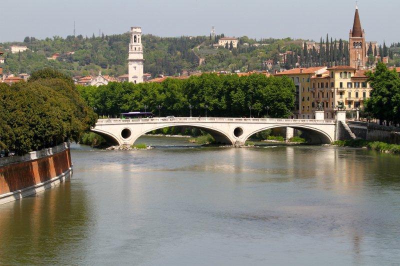 El río Adigio - Verona turismo