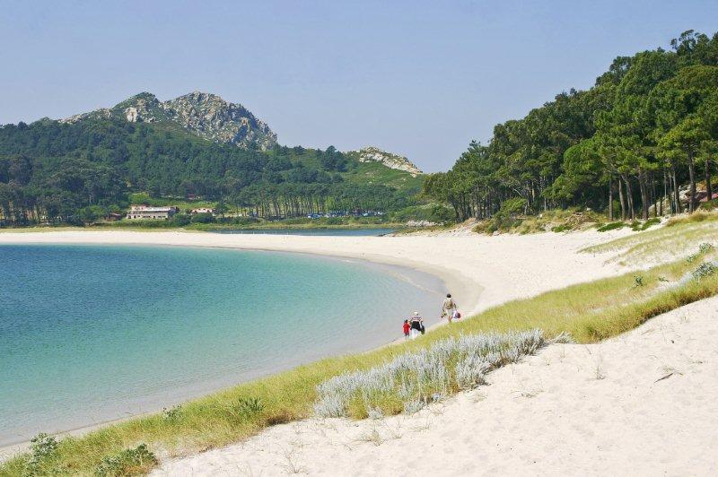 Playa de Rodas en las Isla Cíes