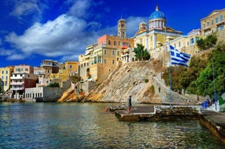 isla de Syros, Cícladas