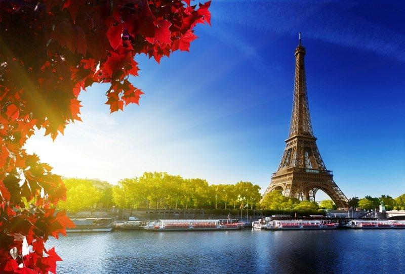 Luces de otoño en Paris
