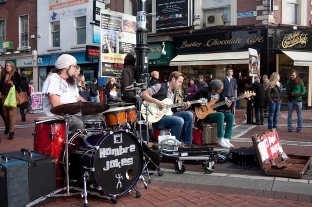 fotos músicos Dublín