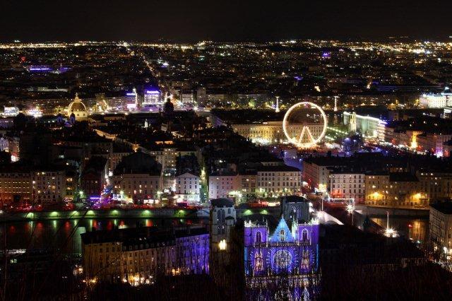 Lyon, Festival de Luces diciembre