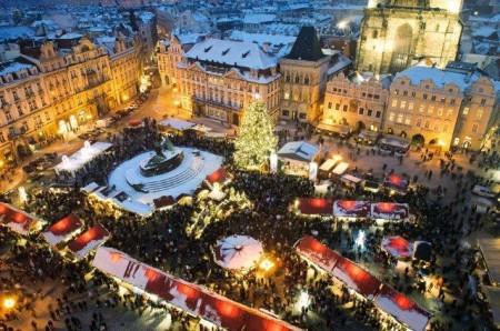 Mercadillo Navidad Praga