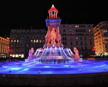 Lyon, festival de las luces de diciembre