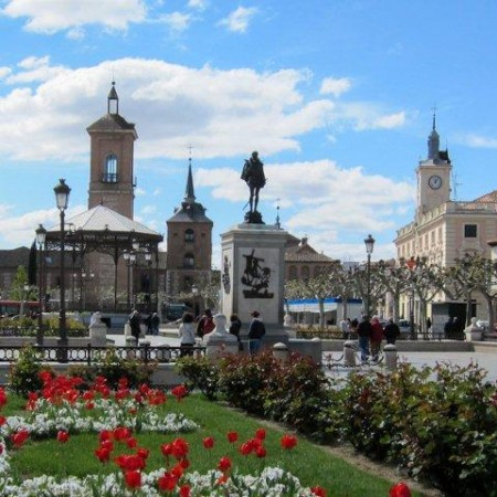 Plaza Cervantes alcalá