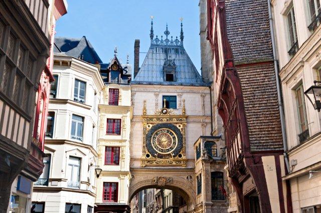 Reloj de Rouen, Normandía