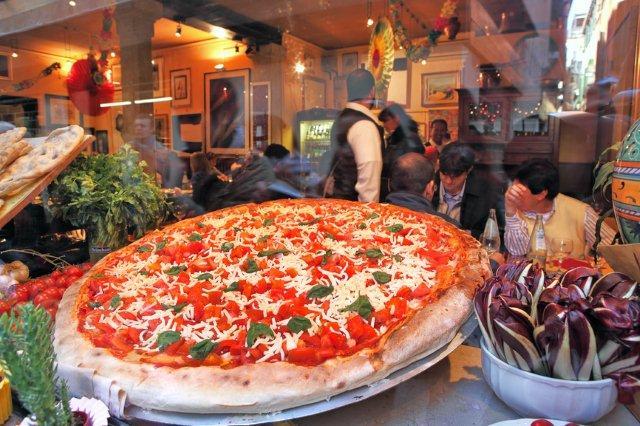 pizza gigante florencia