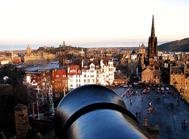 La ciudad vieja, el corazón de Edimburgo. Foto: Angie Castells