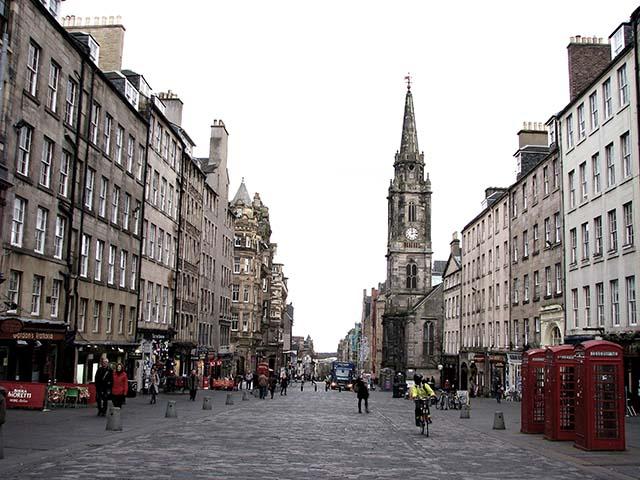 Edimburgo - La Royal Mile