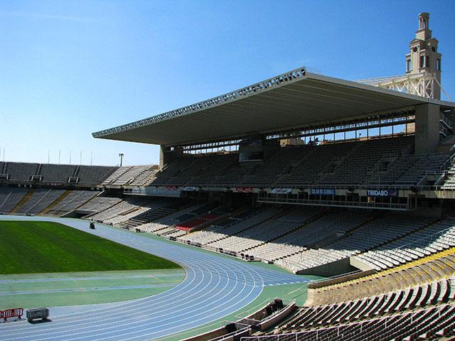 BARCELONA  Estadi Olímpic