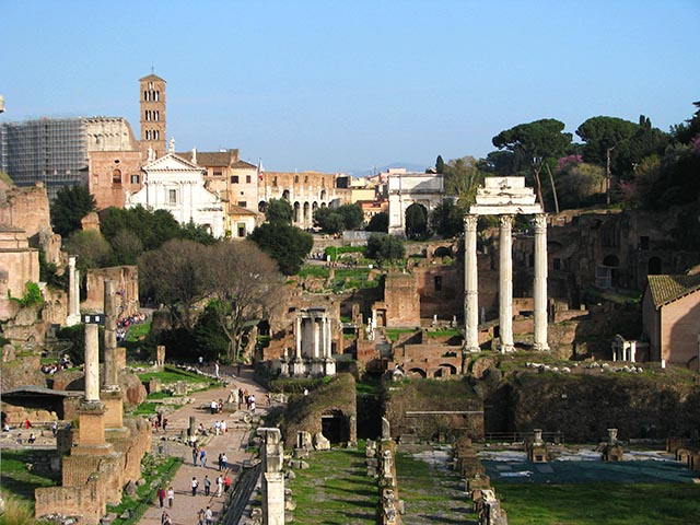Roma - El Foro romano