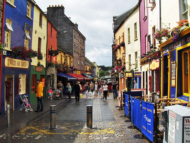Galway - El centro histórico
