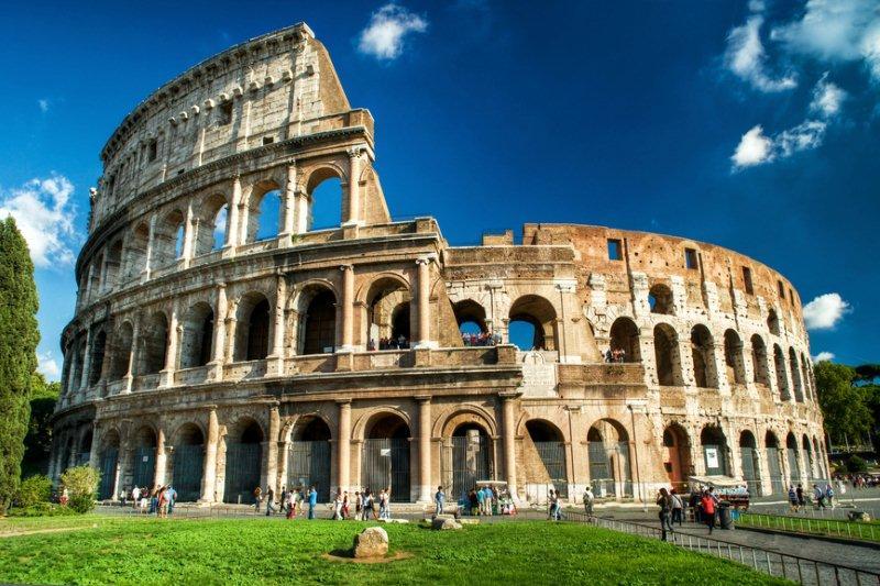 Foto coliseo romano