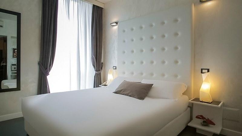 hotel romántico en roma