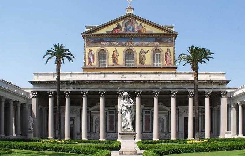 Basílica de San Pablo Extramuros Roma
