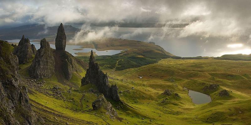 skye island , escocia