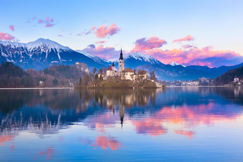 pueblo bonito Bled Eslovenia