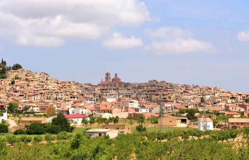 Pueblo de Calaceite Teruel, aragón