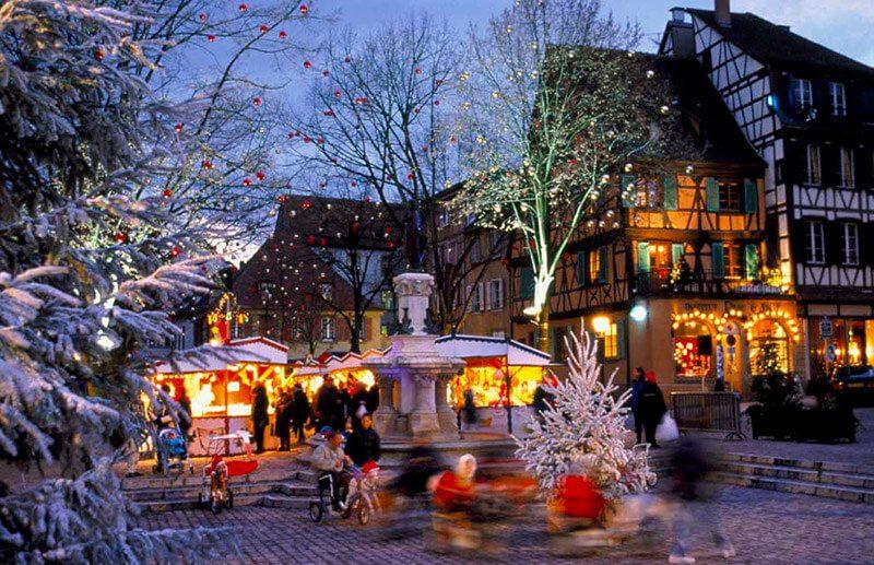 pueblos más bonitos Francia- Colmar
