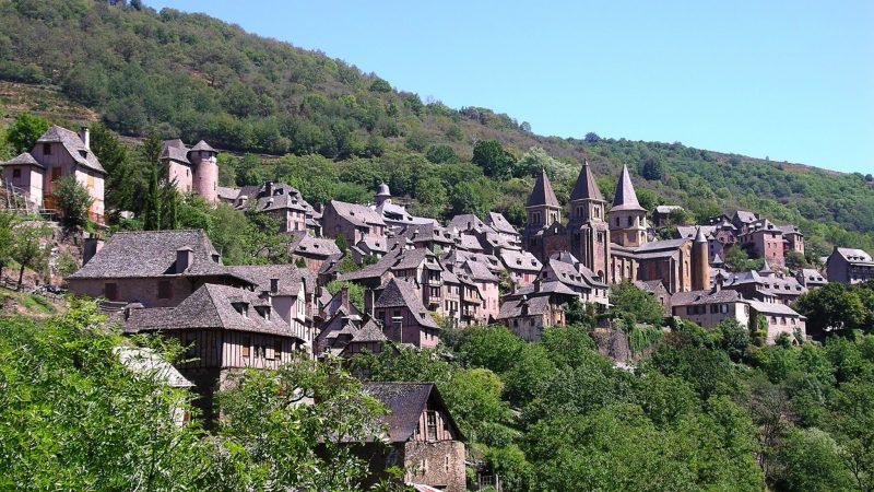 Pueblo de Conques - Francia