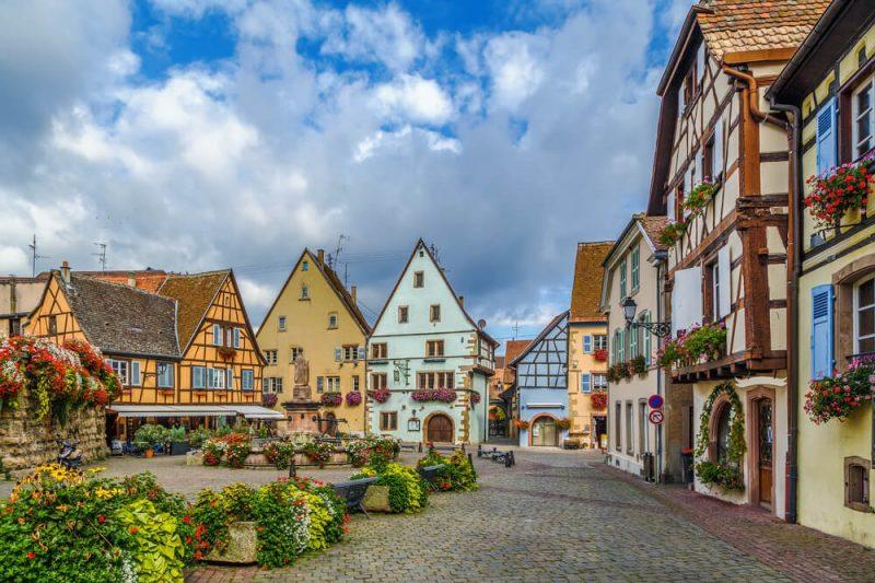 más bonitos de Francia - Eguisheim