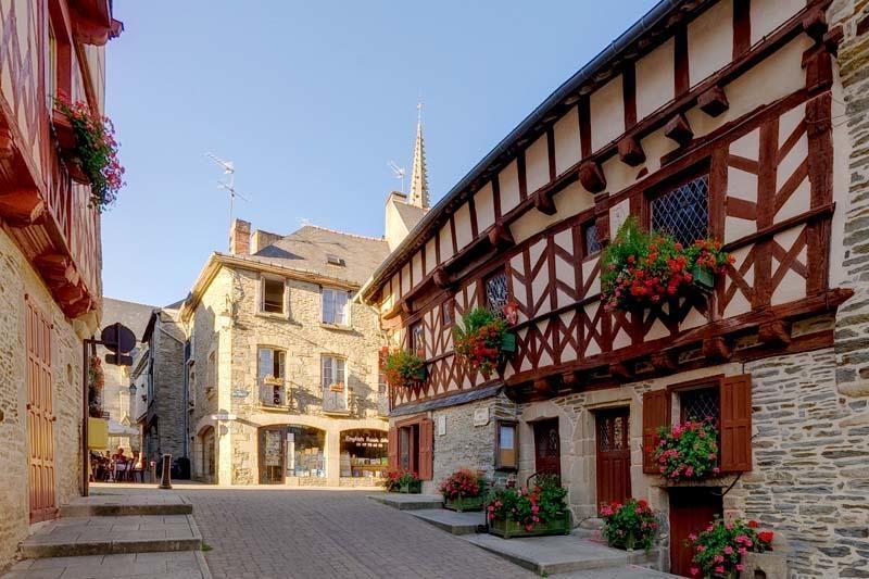Josselin pueblos de Francia