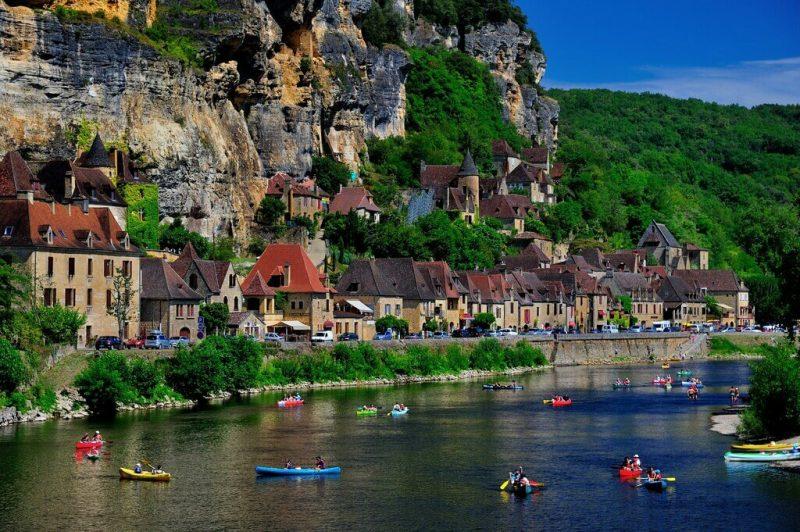 la roque gageac- Francia