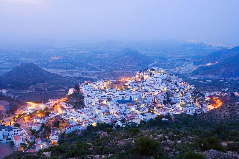 Mojacar, pueblos bonitos de Almería