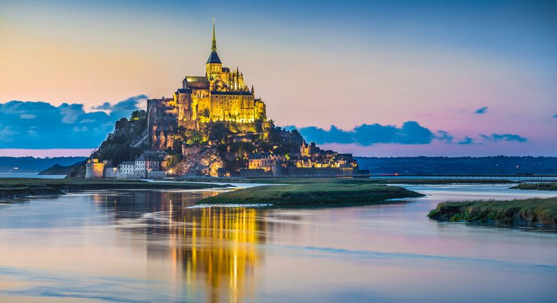 pueblos bonitos europa - mont saint michel
