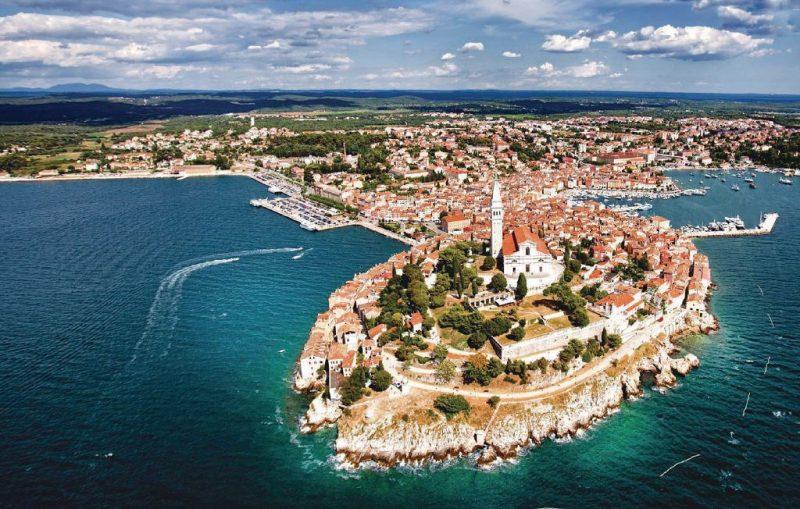 isla de Rovinj - Croacia