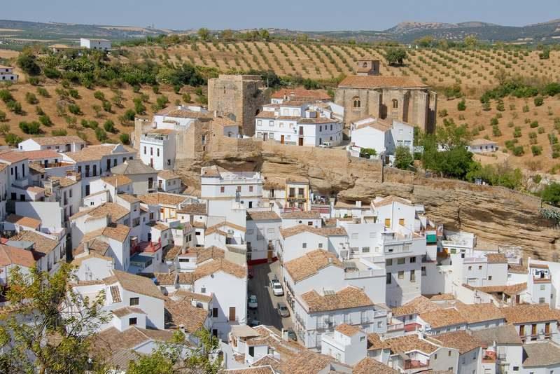 Setenil de las bodegas, Cadiz, Andalucia (Spain)