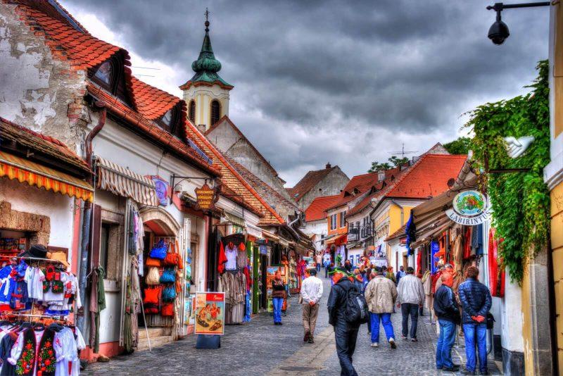 pueblos Hungria , Sztentendre