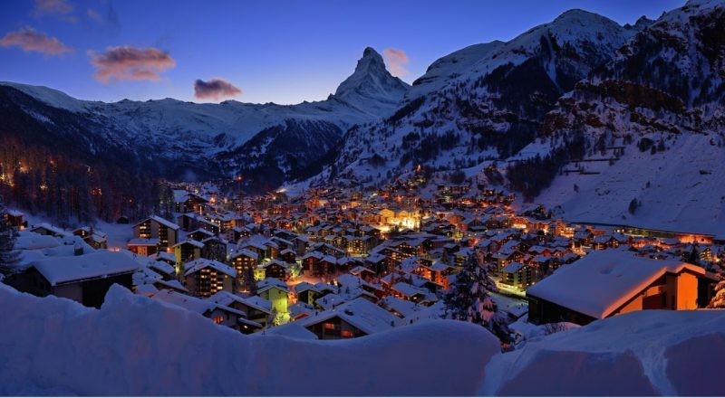 Zermatt bonito, Suiza