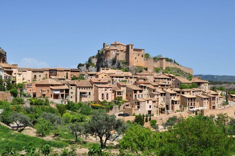 Alquezar, pueblo de Huesca