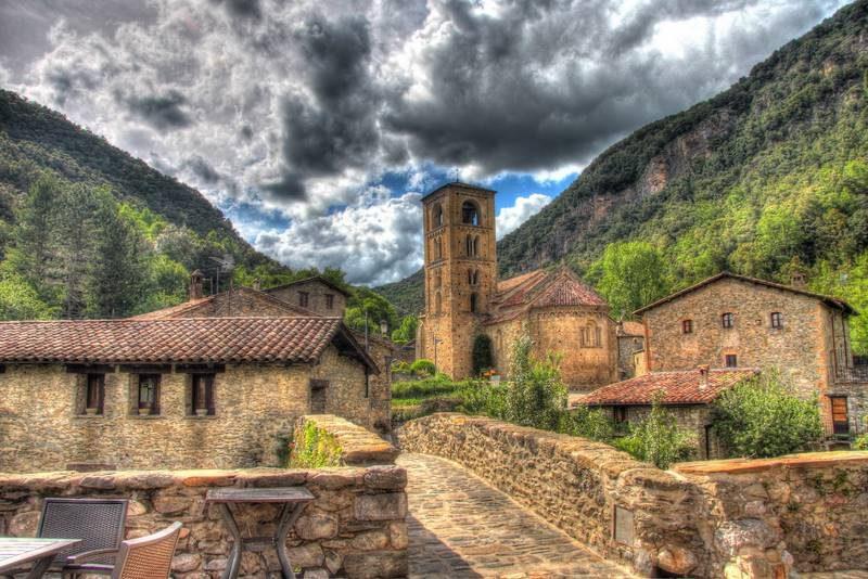 Beget, pueblos de Girona