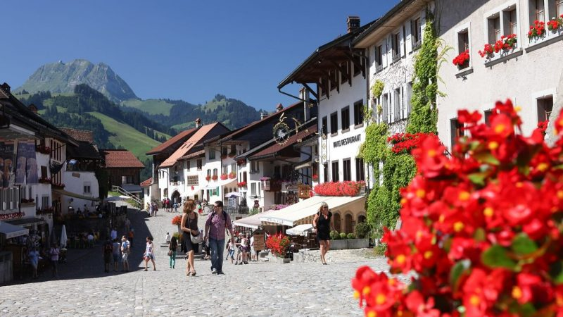 gruyeres pueblo de Suiza