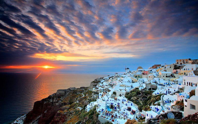 más bonitos europa - Oia Grecia