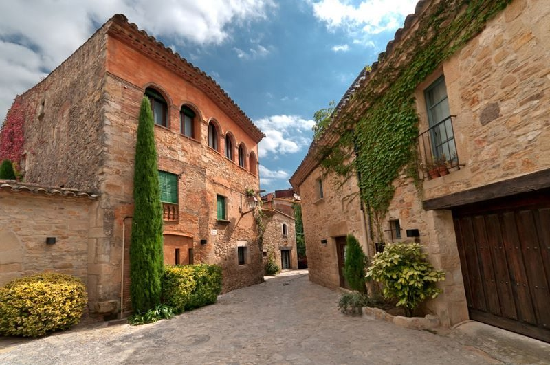 Peratallada, pueblos bonitos de Girona