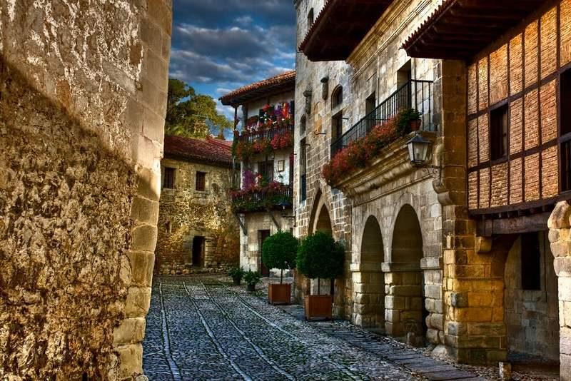Pueblo de Santillana del Mar, Cantabria